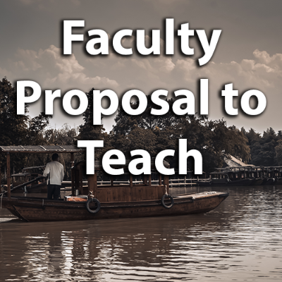 Proposal to lead a Faculty Led Program